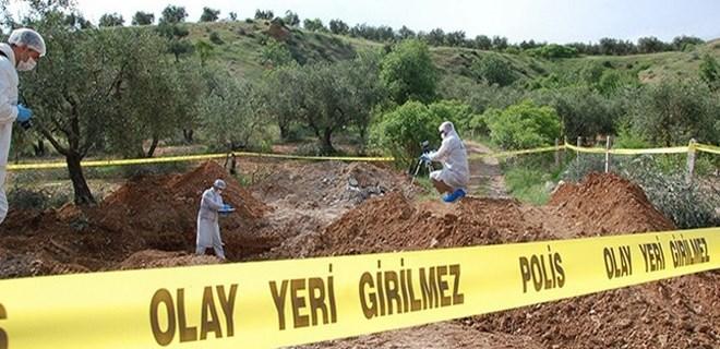 Bursa'da çalılık alanda boğazı kesilmiş halde bulundu