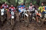 Murat Dalkılıç moto-cross yaptı