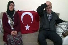Gazileri darp eden şahsın ailesi konuştu