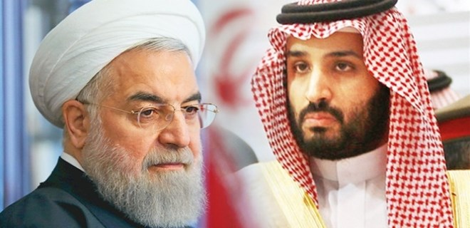 Veliaht prens, İran'a da resti çekti!