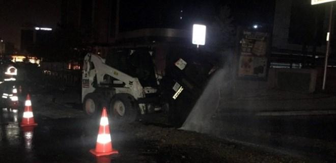 İstanbul'da NATO boru hattı delindi!