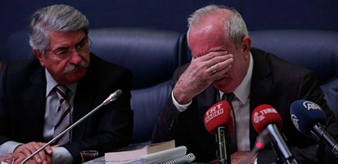 AK partili Miroğlu gözyaşlarını tutamadı