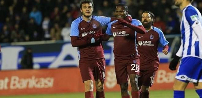 Trabzonspor'da galibiyet coşkusu