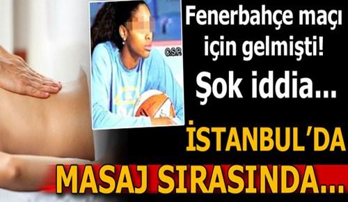 Kadın basketbolcudan taciz iddiası!