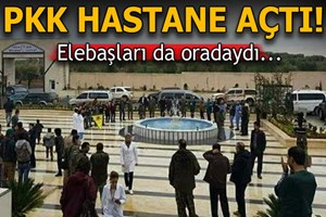 Afrin'de PKK Hastanesi şoku!
