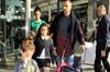 Beşiktaş'ın yıldız futbolcusu Ricardo Quaresma, önceki gün ailesiyle birlikte İstinyePark AVM'de...