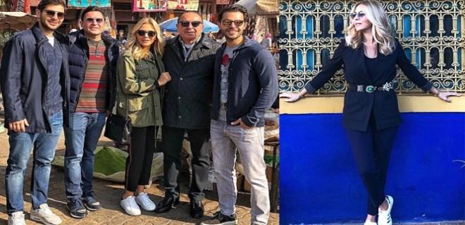 Sabancı ailesinin Marrakesh saadeti