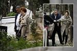 Berna Yılmaz oğlunun mezarını ziyaret etti