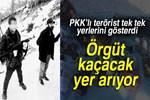 PKK'lı terörist yer gösterdi!