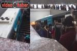 Rusya'da yolcu otobüsü yaya alt geçidine girdi