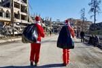 PKK'dan Rakka'da Noel kutlaması!