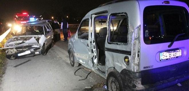 TEM Otoyolu'nda feci trafik kazası!