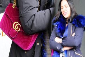 Zehra'nın servet değerindeki çantası