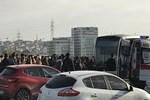 İstanbul'da metrobüs yolunda kaza!