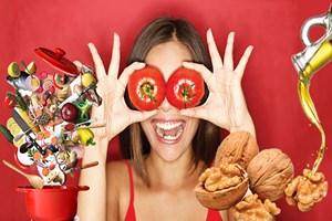 Kırmızı besinler kanserden koruyor!