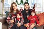 Ebru Yaşar'dan ikizlerle mutluluk pozu