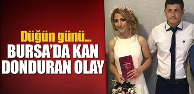 Bursa'da düğün günü kan donduran olay!