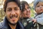 Pelin Karahan'dan Can'dan selfie