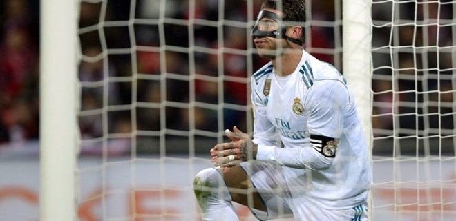 Sergio Ramos'tan tarihe geçen kırmızı kart!