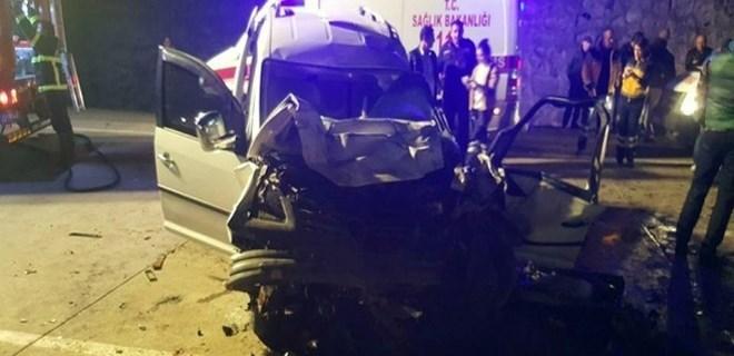 Ordu'da trafik kazası: '4 ölü, 2 yaralı'