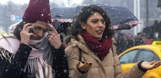İstanbul için kar kapıda!