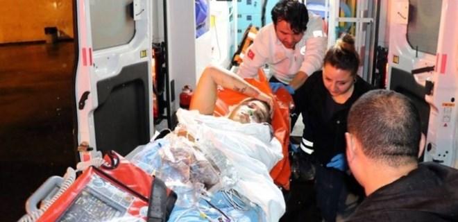 Transeksüel kadını vurup hastane bahçesine attılar!