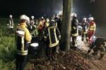 Almanya korkunç tren kazası!