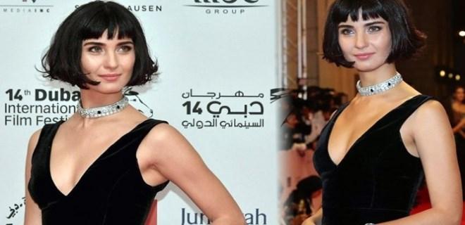 Tuba Büyüküstün Dubai Film Festivali'ne katıldı