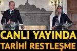 Erdoğan'dan bu kez Çipras'a canlı yayında Lozan cevabı