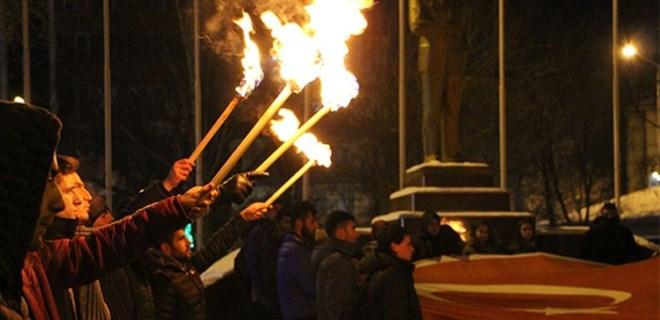 Ülkü Ocaklarından 'Kudüs' protestosu