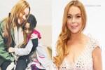 Lindsay Lohan Suriyeli aileyi unutmadı