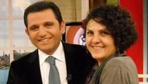 Fatih Portakal'ın eşi haber sunuculuğuna soyundu!
