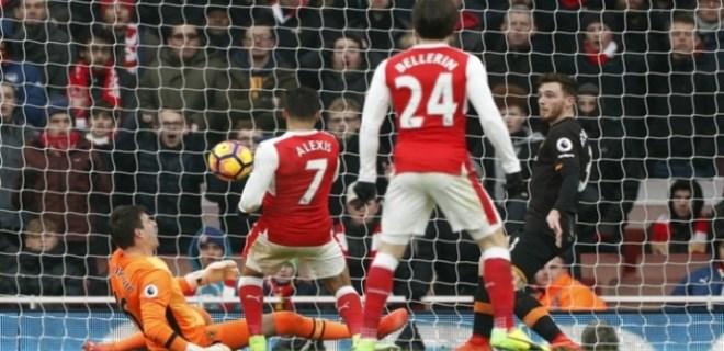 Arsenal'den 'skandal' gol