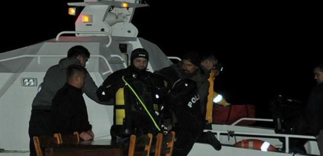 Fırtına nedeniyle batan teknedeki 2 kişi kayboldu!