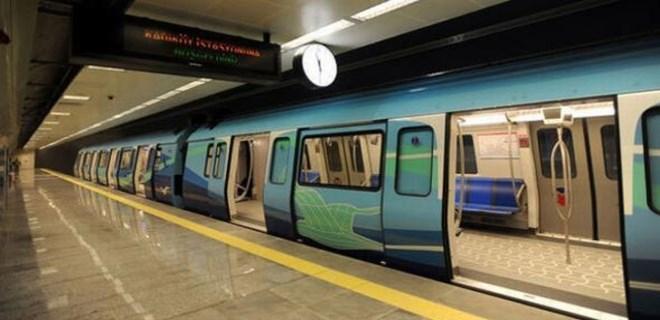 Kartal metro istasyonunda olay!...