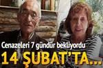 Birlikte ölüme gittiler, 14 Şubat'ta toprağa verildiler!