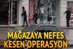 Zonguldak'ta pompalı tüfekle mağaza baskını!