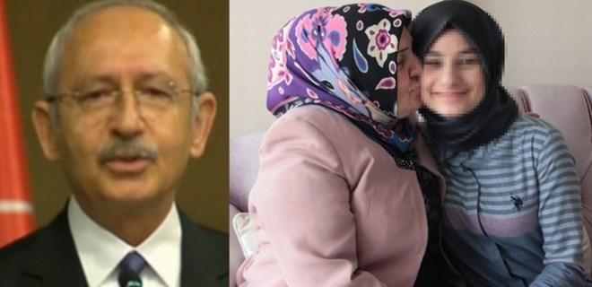 Kılıçdaroğlu saldırıya uğrayan türbanlı kızı evinde ziyaret etti