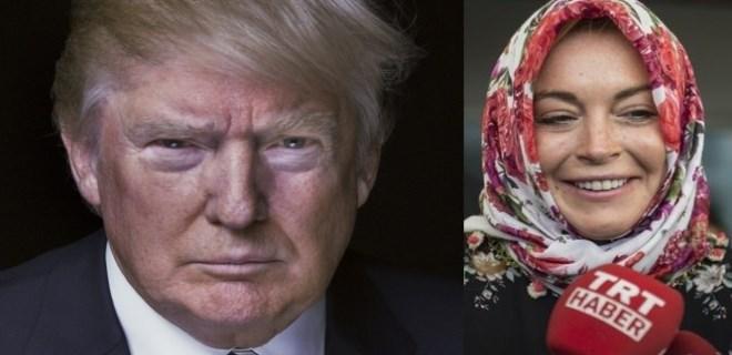 Lindsay Lohan'dan Trump'a 'Türkiye' çağrısı!