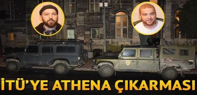 İTÜ'ye Athena çıkarması!