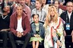 Beyonce'un maç şıklığı