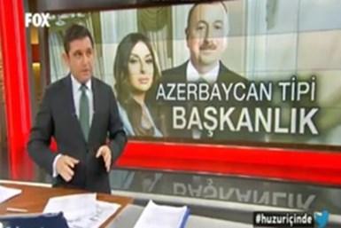 Fatih Portakal Aliyev'i eleştirdi