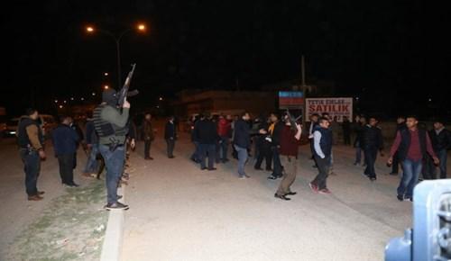 Adana'da gece yarısı tehlikeli gerginlik!