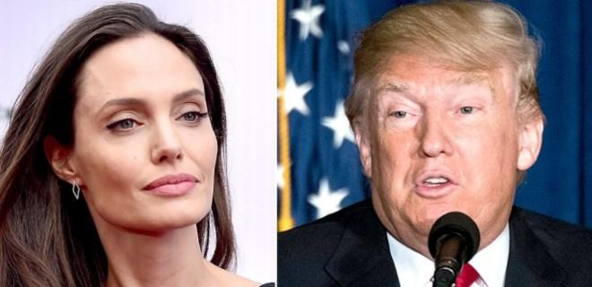 Angelina Jolie'den Donald Trump'a sert sözler