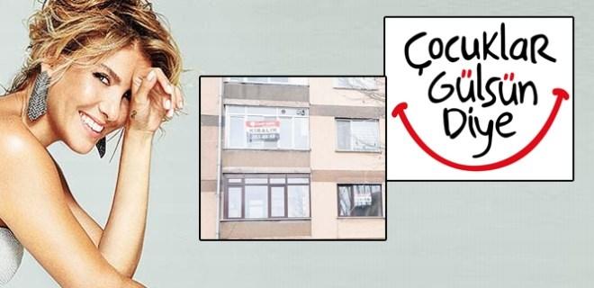 Gülben Ergen derneğin merkezini kiraya verdi!