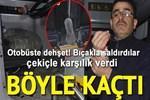 Konya'da belediye otobüsü şoförüne bıçaklı saldırı!