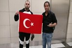 Ronaldinho İstanbul'a geldi!