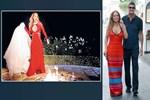Mariah Carey klibinde gelinliğini yaktı!