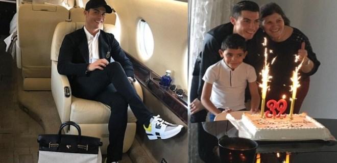 Cristiano Ronaldo 32 yaşına bastı!