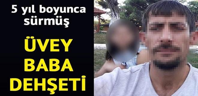 Üvey kızına cinsel istismardan tutuklandı!